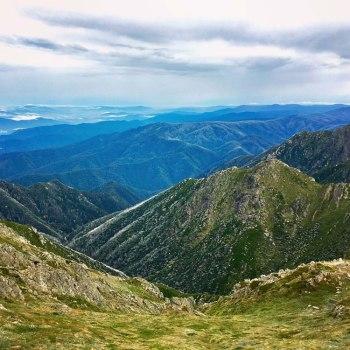 Kosciuszko National Park Mountains Horizon