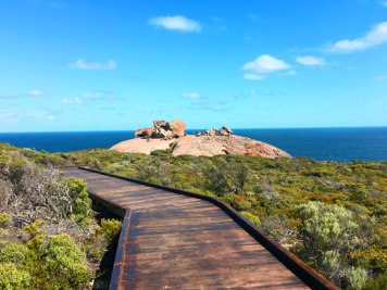 On the way to Remarkable Rocks